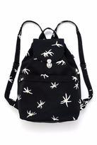 Baggu Black Daisy Backpack
