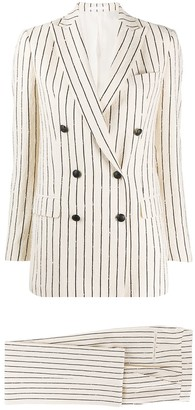 Tagliatore Striped Two-Piece Suit