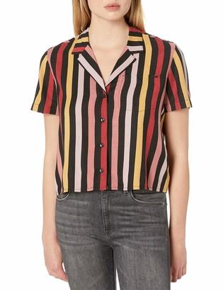 Volcom Women's Gen Wow Boxy Short Sleeve Shirt
