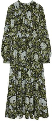 Arket Fluid Floral Dress