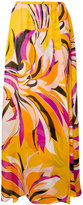 Emilio Pucci printed maxi skirt - women - Silk - 38