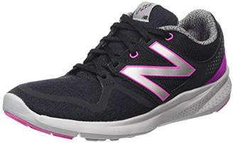 New Balance WCOAS, Women's Competition Running Shoes, Blue (YP NAVY/PINK 10), ( 40.5 EU)