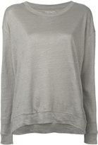 Majestic Filatures longsleeved T-shirt - women - Linen/Flax - I