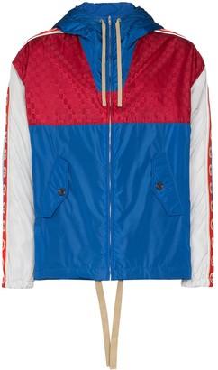 Gucci GG stripe reflective jacket