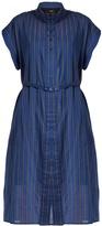 Rachel Comey Oasis banker-striped cotton-blend dress
