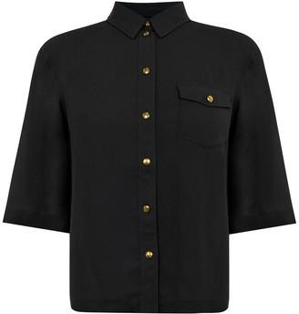 Biba Kimono Button Shirt