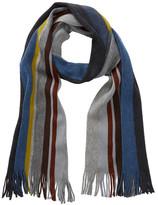 Tommy Bahama Striped Wool Knit Scarf