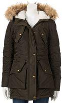 Steve Madden Juniors' Girl Ruched Cargo Jacket