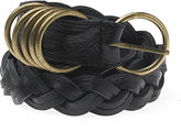 Braided Ring Belt