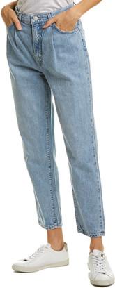 J Brand Pleat Front Blissed Straight Leg Jean