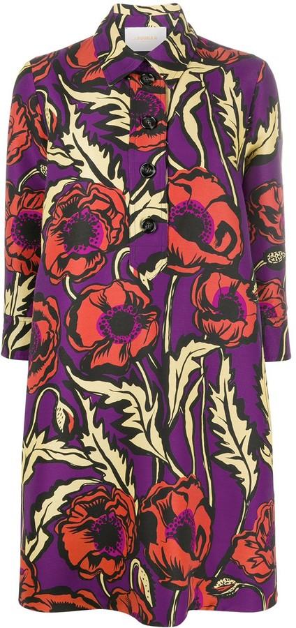 La DoubleJ Floral Print Shift Dress