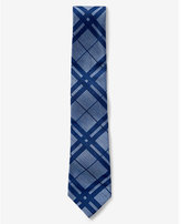 Express tall narrow silk blend tie