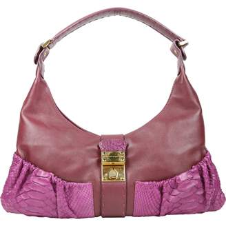 Ungaro Purple Leather Handbags
