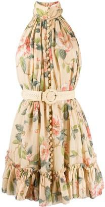 Zimmermann floral print ruffled dress