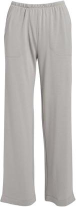 Fresh Produce Women's Casual Pants SLG - Silver Gray Side-Pocket Wide-Leg Pants - Women