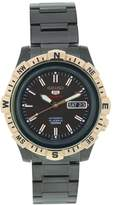 Seiko Men's SRP148 Stainless Steel Analog with Brown Dial Watch