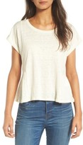 Madewell Women's Modern Linen Gather Top