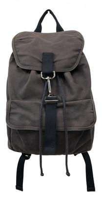 A.P.C. Navy Cotton Bags