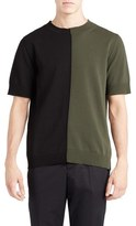 Marni Men's Colorblock Short Sleeve Sweater