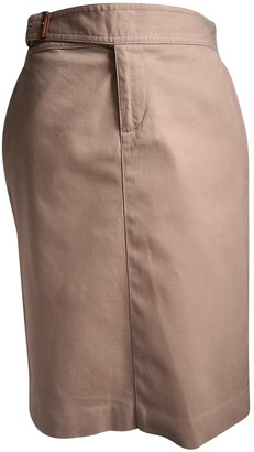 Lauren Ralph Lauren Beige Cotton Skirt for Women