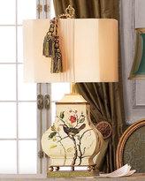 Painted Bird Lamp