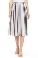 Anne Klein Women's Stripe A-Line Skirt