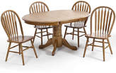 Asstd National Brand Oakmont 42 Pedestal 5-pc. Dining Set
