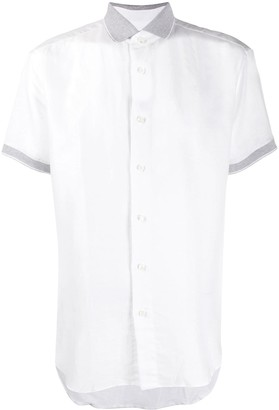 Brioni Short-Sleeved Button-Up Shirt