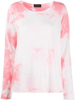 Roberto Collina Tie-Dye Relaxed Jumper