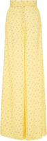 Jill Stuart Jodie Floral Wide Legged Pant