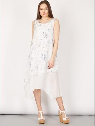 M&Co Izabel floral layered dress