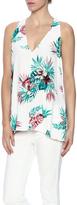 BB Dakota Palm Print Blouse