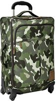Northfield Green Camo Carry-On Spinner