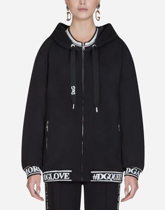 Dolce & Gabbana Cotton Sweatshirt With Hood