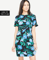 Ann Taylor Floral Tee Dress