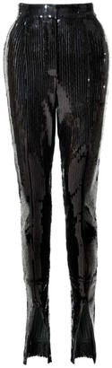 Aggi Stella Black Onyx Sequin Pants