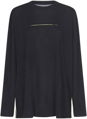 MM6 MAISON MARGIELA Contrast Stitch Sweater
