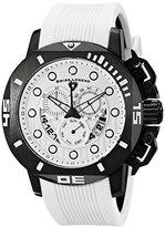 Swiss Legend Men's 10538S-BB-02-WS Scubador Analog Display Swiss Quartz White Watch