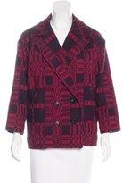 Etoile Isabel Marant Patterned Double-Breasted Coat