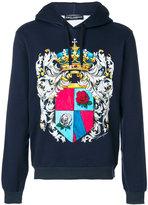 Dolce & Gabbana crest print hoodie