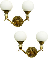 One Kings Lane Vintage Maison Arlus Sconces, Pair