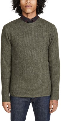 Faherty Cashmere Blend Crew Neck Sweater