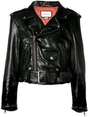 Gucci cropped embellished jacket
