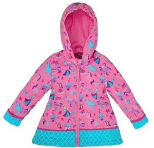 Stephen Joseph Little Girl All Over Print Raincoat
