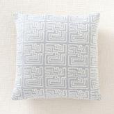 Kelly Wearstler Miramar Outdoor Pillow - Graphite