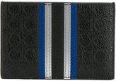 Salvatore Ferragamo striped panel wallet