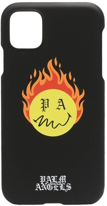 Palm Angels Burning Head iPhone 11 case