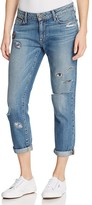 Paige Jimmy Jimmy Ankle Jeans in Crystallized