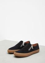 Dries Van Noten Black Side Zip Slip-on Sneaker