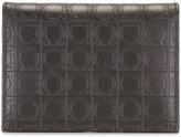 Salvatore Ferragamo allover embossed logo wallet - men - Calf Leather - One Size